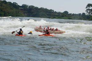 Whitewater rafting Jinja Uganda